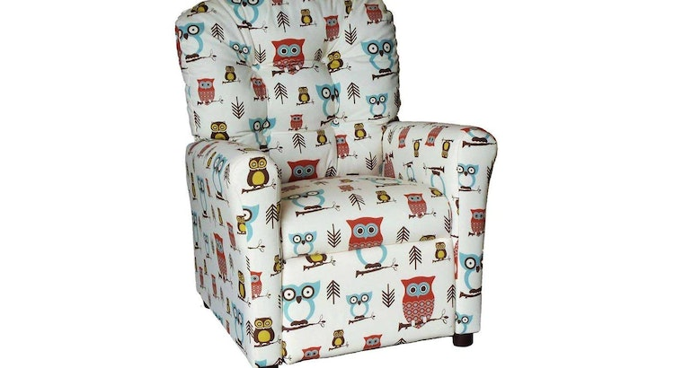 Our 4-Button Back Childrens Recliner Is Beyond Adorable!