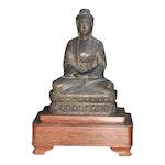 Buddha in Wooden Base