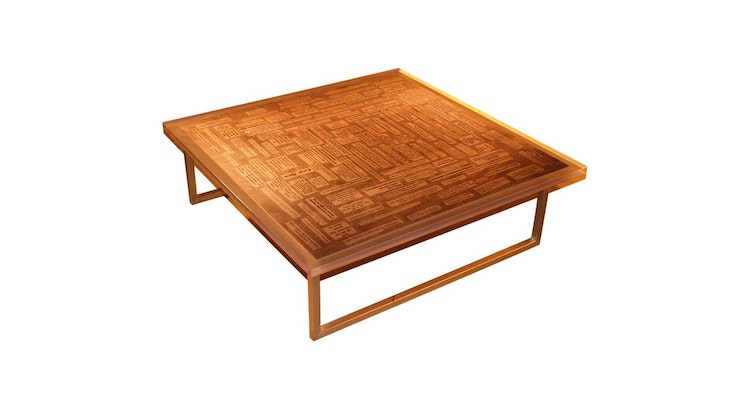 The Spoken Word Modern Table Is One of A Kind!