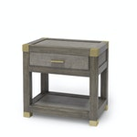 Gregory Nightstand Gold Finish