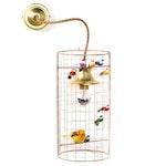 La Volière Wall Lamp / Mini Pendant - Mathieu Challières