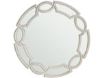 Heather Gray Round Mirror