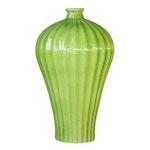 Fluted Plum Vase