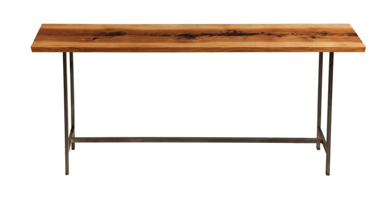Introducing The Studio Console Table in Hickory!