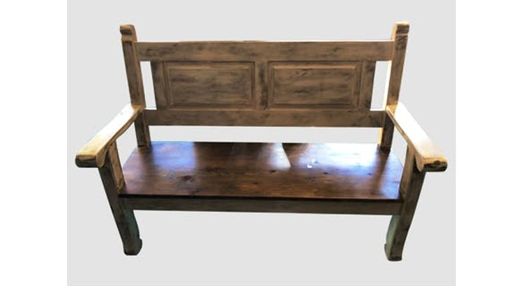 The Vintage Wood Bench