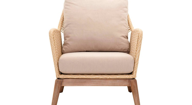 Say Hello to Our Sand Rope Loom Club Chair!