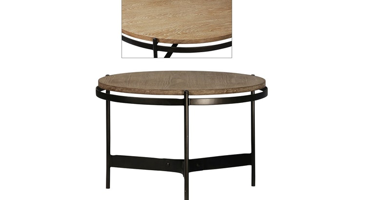 Take A Look At Our Modern Industrial Coffee Table!
