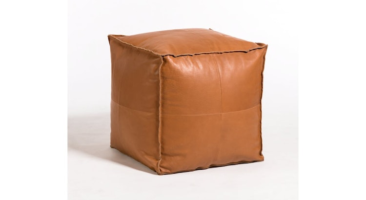 Cozy and Stylish, The Barret Small Pouf Ottoman Is A Must Have!