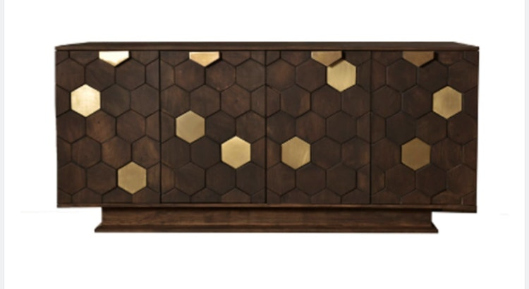The Hexagon Sideboard Is Stunning!