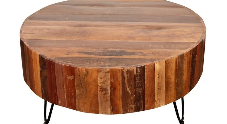 Enjoy The Tulsa Natural Coffee Table In Your Home Today!