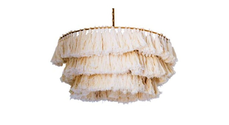 The Tassel Chandelier Will Light Up Your Home!