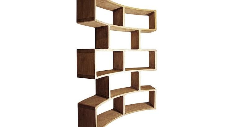 The Radius Bookcase Is Built To Last!