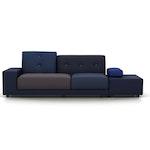 Polder Sofa Night Blue by Hella Jongerius for Vitra - Floor Model