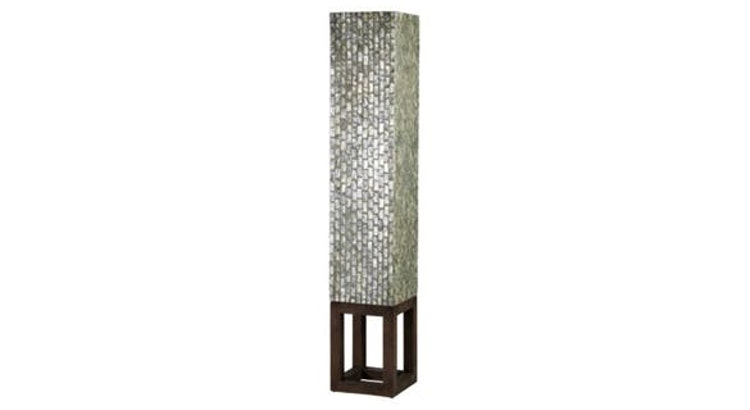 Fall in Love With the Grand Wales Capiz Floor Lamp