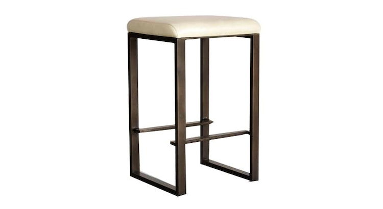 Take A Look At The Forged Metal Modern Stool!