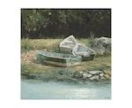 Three Rowboats