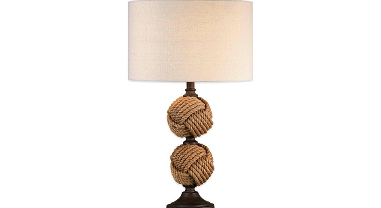 Say Hello To Our Rope Ball Table Lamp!