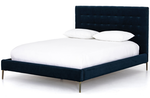 """Rowan 48.5"""" Bed, Midnight Blue - Queen"""