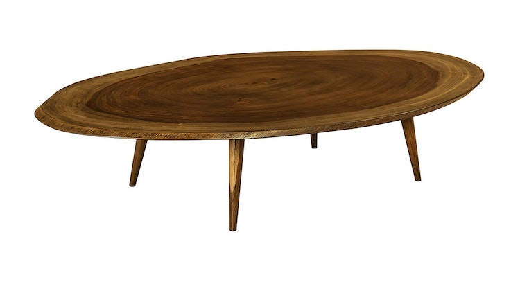 Take a Look at Our Stunning Oval Coffee Table!