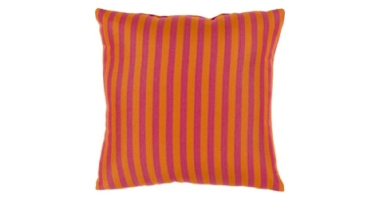 The Sunset Stripe Outdoor Pillow is So Chic!
