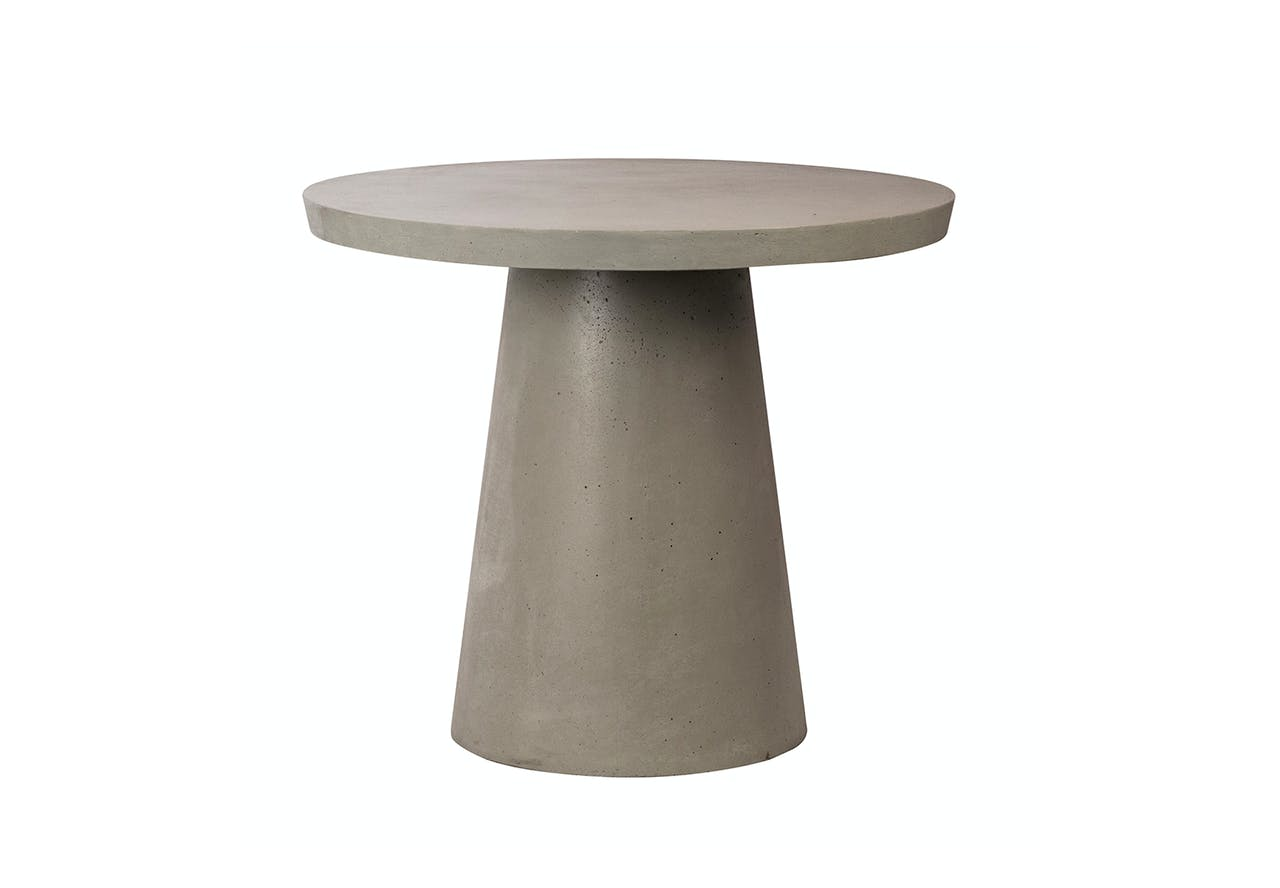 Modern Cement Pedestal Table