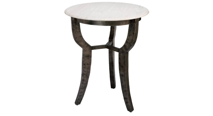 Presenting The Marbled Side Table!