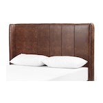 The Daisy Vintage Brown Headboard - Queen Size