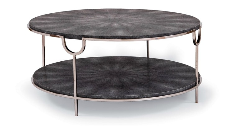 Say Hello To Our Vogue Shagreen Cocktail Table