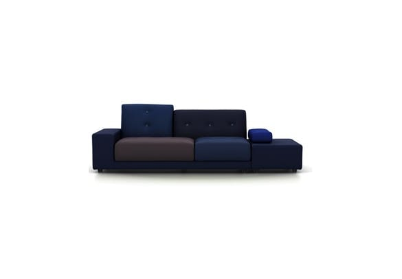 Introducing the Polder Sofa in Night Blue by Hella Jongerius for Vitra!