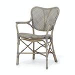 Jordan Arm Chair - Grey