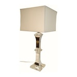 Crystal and Chrome Lamp, XL