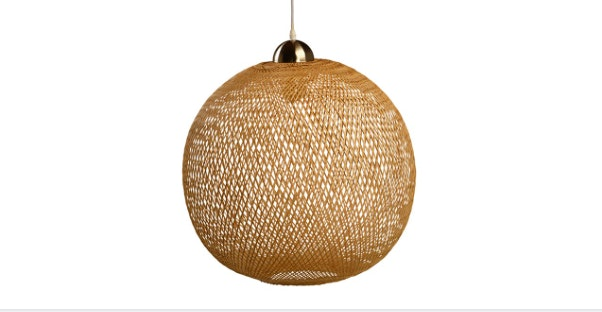 We Love Our Woven Pendant Light Fixture