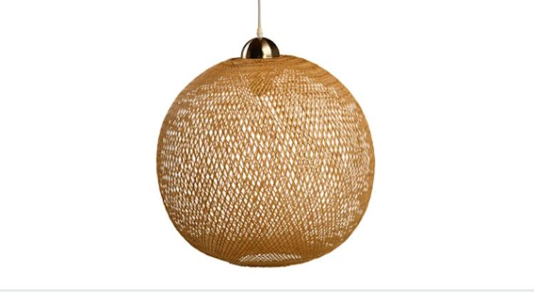 We Love Our Woven Pendant Light Fixture