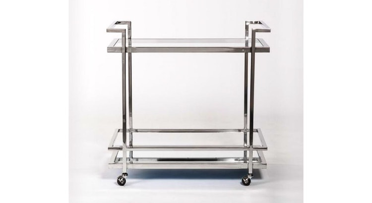 Stack Up Your Style With The Brentwood Bar Cart!