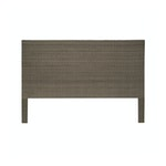 The Woven Wicker Headboard, King
