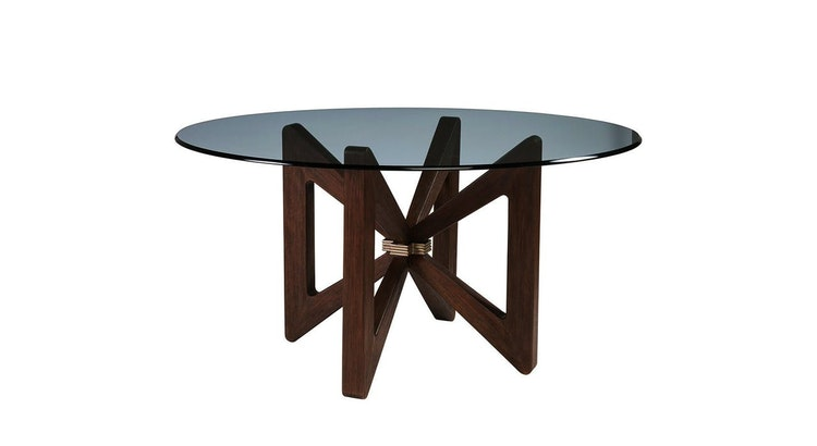 Spotlight's On Our Round Dining Table