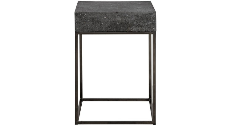 Take A Look At The Jude Concrete Square Accent Table!