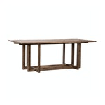 Modern Wood Herringbone Table