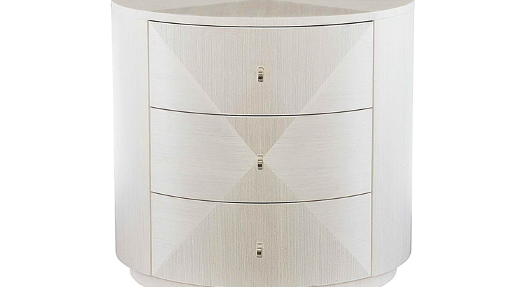 Declutter and Stylize Your Lounge With The Axiom Round Chairside Table!