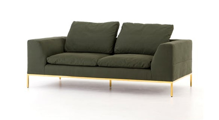Get Green With Envy! Take a Peek at the Rita Sofa!