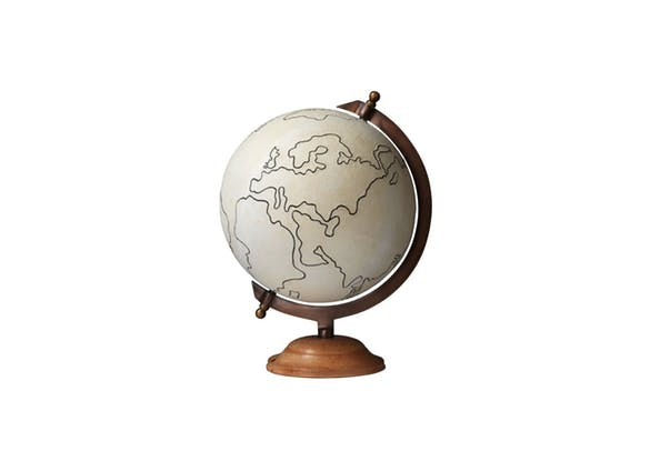 Our Canvas Globe Is The Perfect Accessory!