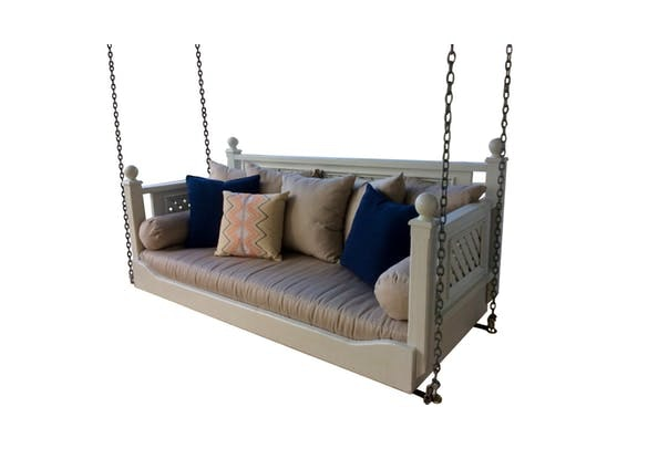 Meet One of Our Most Popular Products! The Antebellum Swinging Bed!