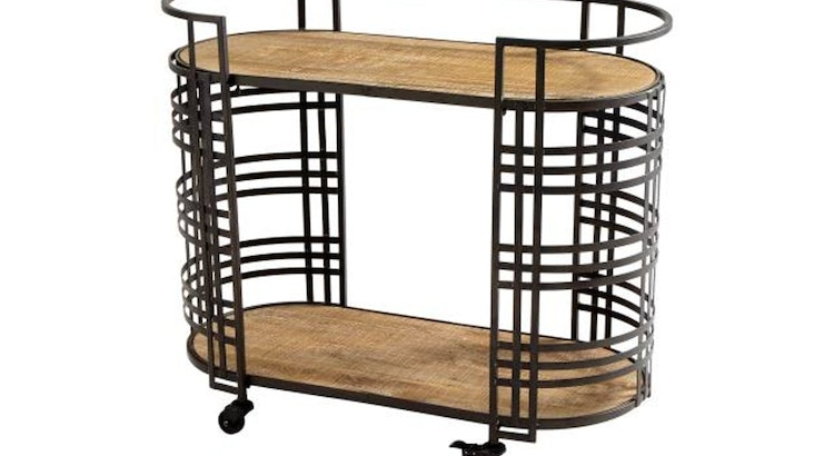 Take A Look At The The Banded About Bar Cart!