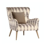 Zena Patterned Arm Chair