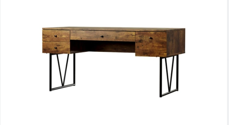 Introducing The Granite 4 Drawer Writing Desk