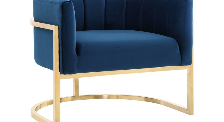 The The Magnolia Navy Chair is Fabulously Chic!