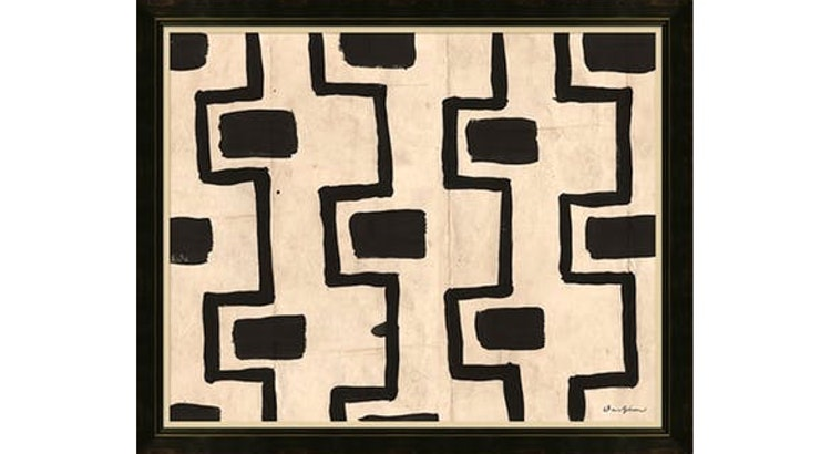 Introducing Black and White Mud Cloth Art!