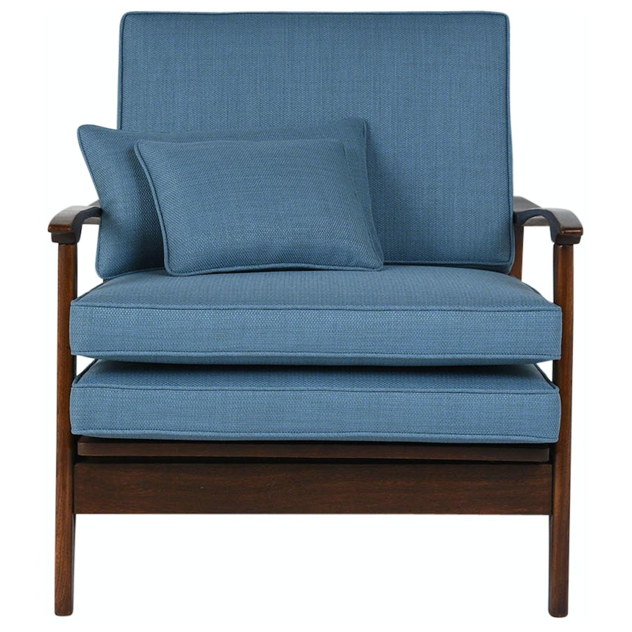 Outstanding Vintage 1960S Mid Century Modern Reclining Lounge Chair Short Links Chair Design For Home Short Linksinfo
