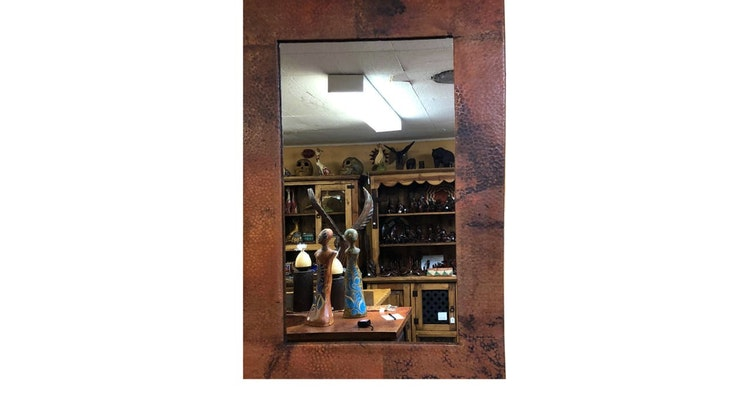 Say Hello To Our Copper Frame Mirror!