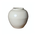 White Ceramic Milk Pottery